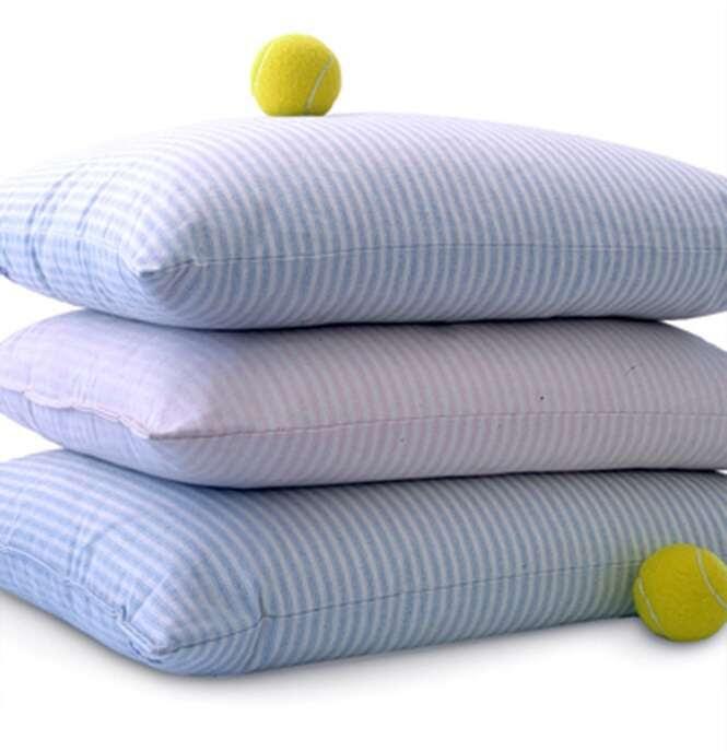 Como deixar seus travesseiros brancos novamente?