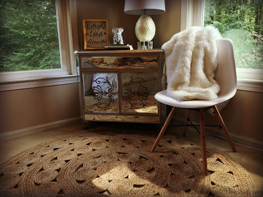 Home Decor: Bedroom Update With Serena & Lily Jute Rug - The Fashionable Housewife