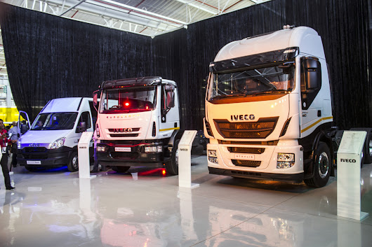 CNHI and IVECO Trucks Born in South Africa