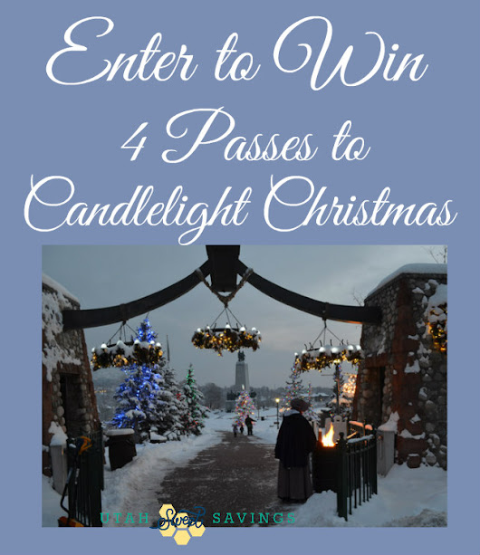 This is The Place Candlelight Christmas Discount Code and Giveaway!