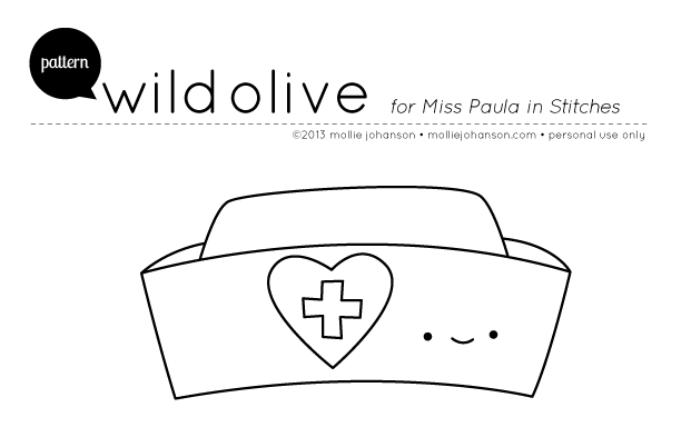Wild Olive: pattern: nurse hat (and a blessing)