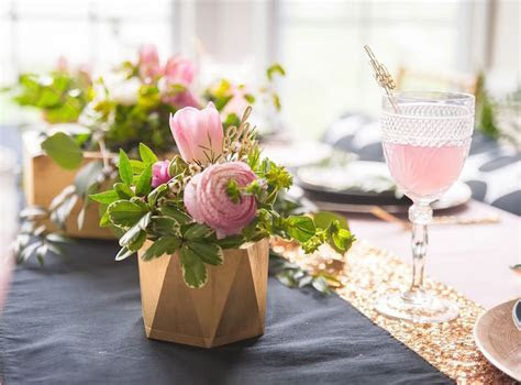 Kara's Party Ideas Geometric Floral Baby Shower   Kara's