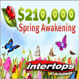Spring Awakening Casino Bonus Race has Begun at Intertops Casino