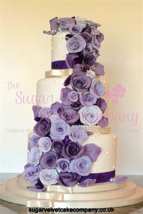 Cadbury Purple Wedding Cake (Copy)   Wedding Cakes and