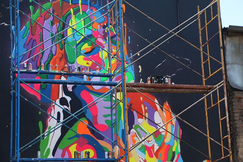 Dasic Fernandez Muralista Chileno El Graffiti Es Un Acto De