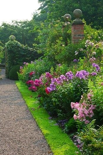 Busy at Home: Wollerton Old Hall garden ~ England