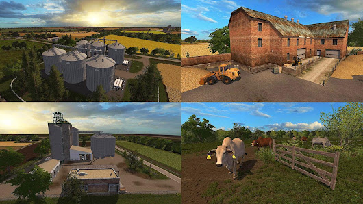 Southern Parish Map v3.2.0 FS17 - Farming Simulator 17 mod / FS 2017 mod