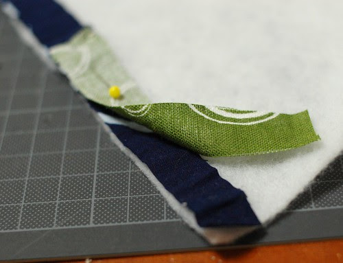 How to make a string quilt pouch 3
