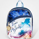 Girls' Disney Frozen 2 Backpack - Blue/Silver One Size, Girl's