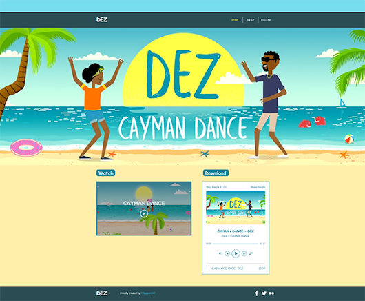 Cayman Dance Animated Music Video (DEZ), Sundstedt Animation