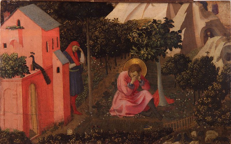Archivo: Fra Angelico - conversión de saint augustin.jpg