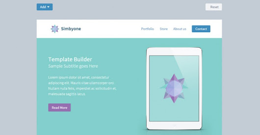 Drag and Drop Newsletter Builder using jQuery