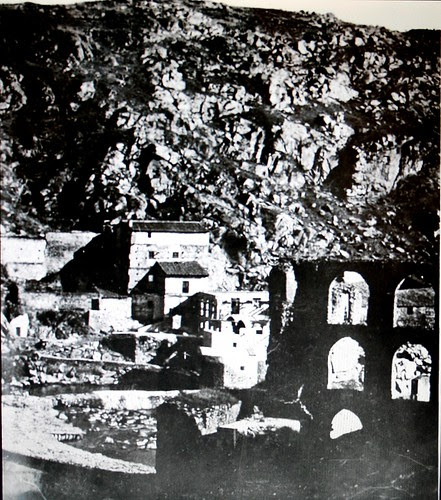 Artificio de Juanelo, Toledo, antes de su demolición