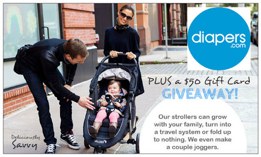 $50 Diapers.com Gift Card Giveaway | Mami's 3 Little Monkeys
