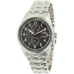 Citizen Men's Eco-Drive CA0620-59H Silver Stainless-Steel Japanese Quartz Fashion Watch