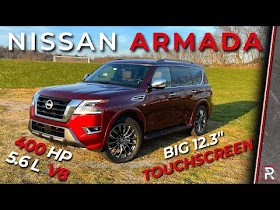 The 2021 Nissan Armada Patrols the Streets with a New Look Outside and Tech Inside