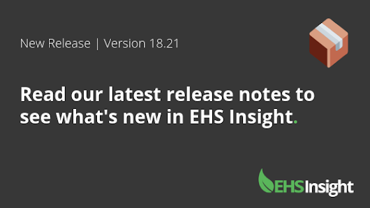 EHS Insight Empowers Companies to Easily Manage Risk with New Job Safety Analysis Module