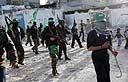 אנשי חמאס ברצועה (צילום ארכיון: AFP)