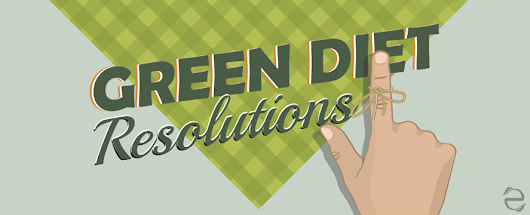 Green Diet Resolutions [Infographic]