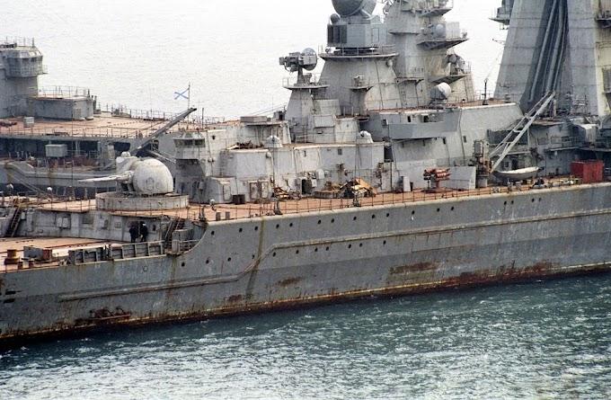 Quatro submarinos e dois cruzadores pesados da marinha Russa serão sucateados até 2021
