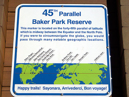 Halfway to the North Pole!  Or Equator!