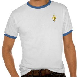 Fleur De Lis Shirt shirt