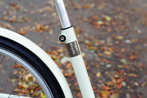 Paper Bicycle, No Seatstays!
