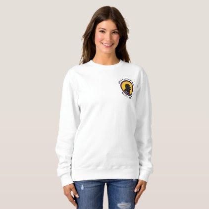 Basic Sweatshirt: Read Smart Cavewoman Sweatshirt