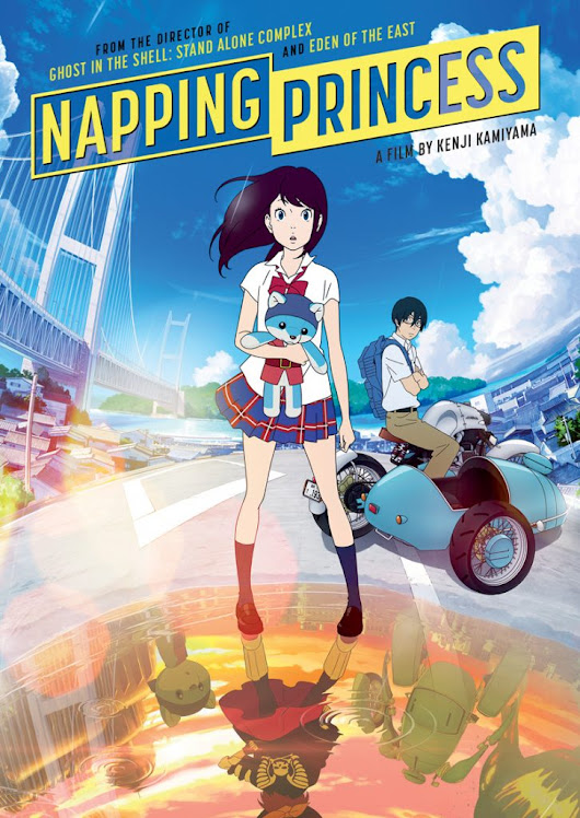 Napping Princess on Blu-ray + DVD on January 30 {Review + Giveaway!} » Connected2Christ