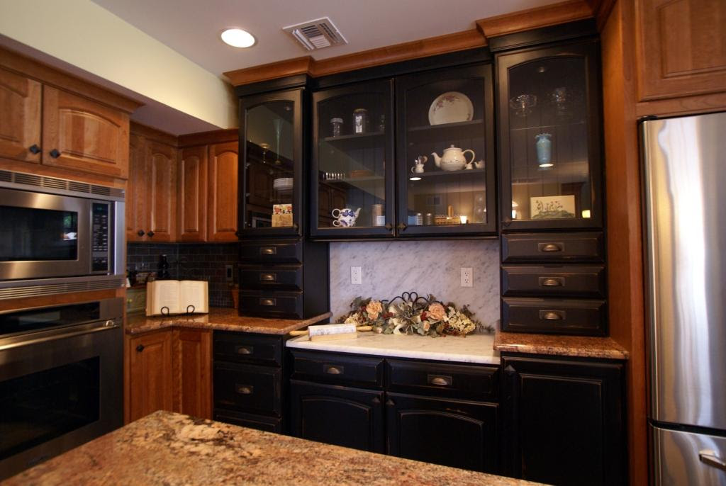 Black Painted Cabinets for a Kitchen Remodel | Toms River ...