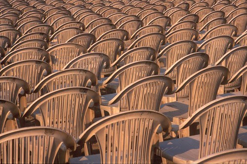 An Ode To Empty Chairs by firoze shakir photographerno1