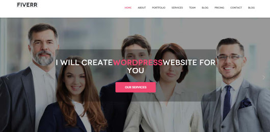 mirhossainbd95 : I will build  Professional WordPress Website Or Blog for $5 on www.fiverr.com