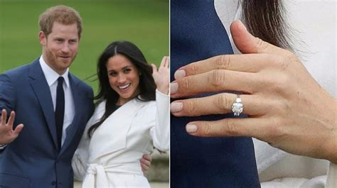 Meghan's engagement ring studded with some of Diana's diamonds