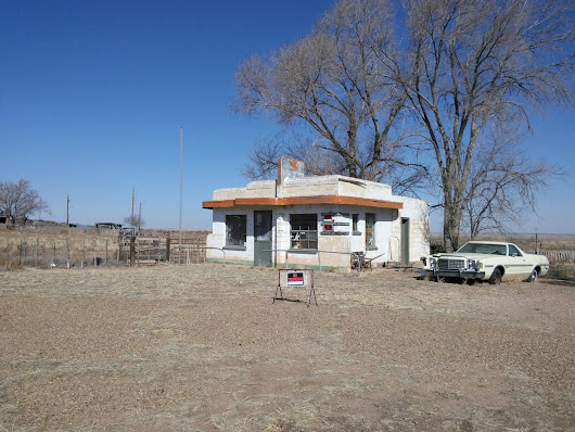 Ghost Towns of Route 66 - Glenrio and Endee - Mid Century Style Magazine