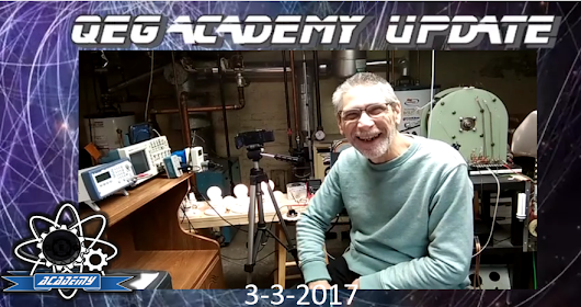 QEG Update 3-3-2017 Special Edition 1 Hour Video from James Robitaille - QEG Free Energy Academy