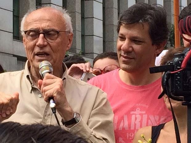 Resultado de imagem para SUPLICY DEVE TER VOTAÇÃO CONSAGRADORA EM SP