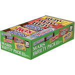 Mars Chocolate Full-Size Candy Bars Variety MMM51950