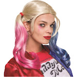 Rubies Costume Co. Inc. Suicide Squad Adult Harley Quinn Wig, Blonde, One Size