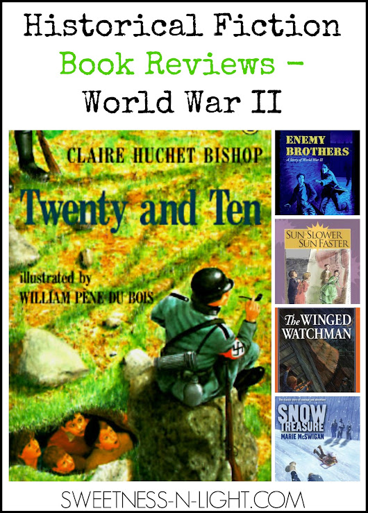 Our Favorite Historical Fiction World War II Book Reviews - The Curriculum Choice