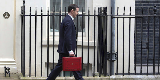 The Funniest Pictures From George Osborne's Budget Statement