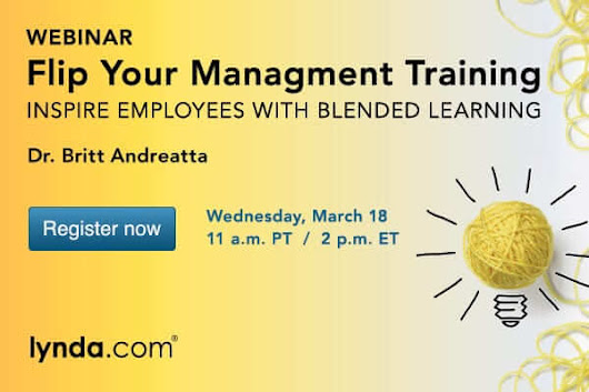 Attend my free webinar: Flip Your Management Training