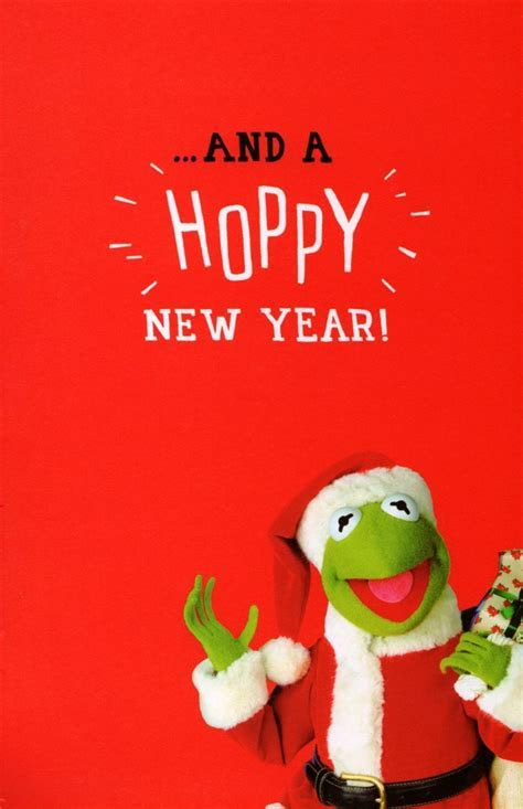 Kermit The Frog Husband Christmas Card   Cards