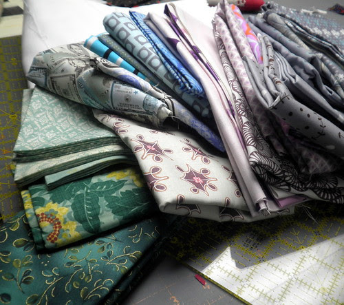 Fabrics for my Brother's Quilt
