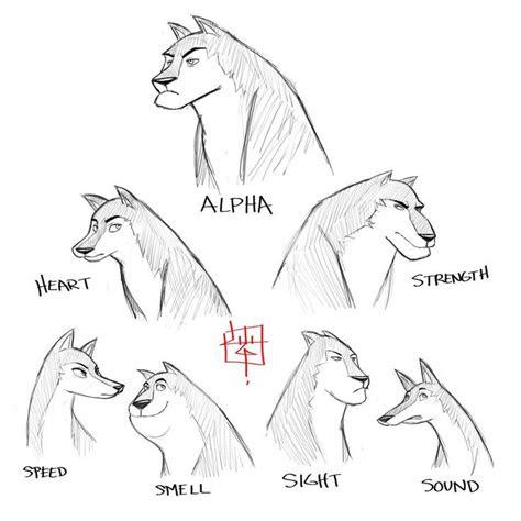 wolf pack sketch concept  luigil  deviantart
