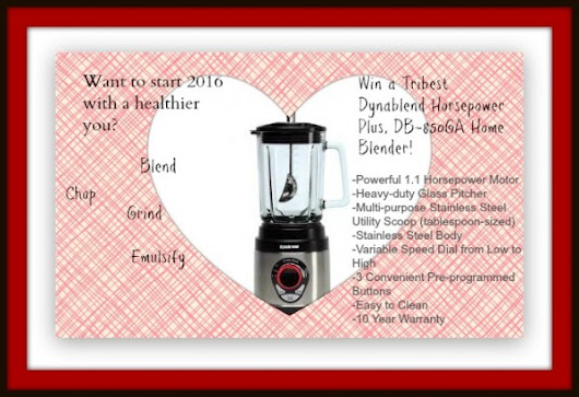 Win one of two Tribest Power Blenders - Born 2 Impress