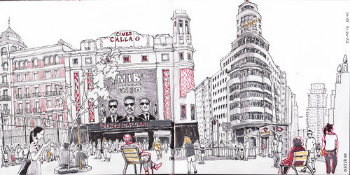 Cines Callao by aidibus