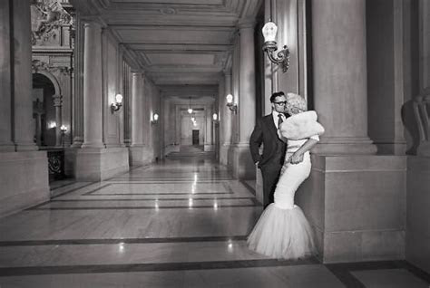 Erika and Robbie got married at San Francisco City Hall