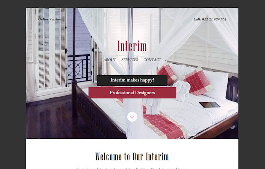 Interim a Newsletter Responsive Web Template by w3layouts