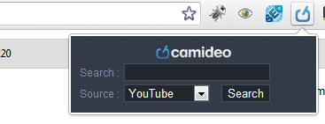 Add Camideo Extension for Chrome