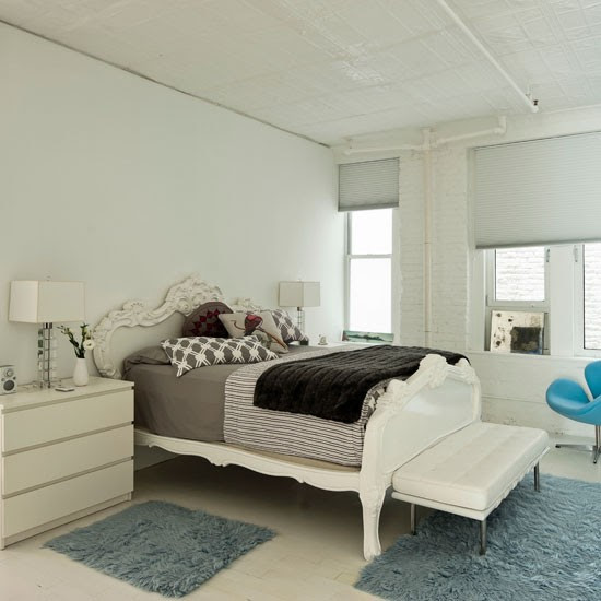 Bedroom | Take a look around a light, bright New York loft | House tour | Livingetc | PHOTO GALLERY